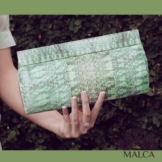Malcaist Silk Songket Printing Clutch