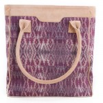 Songket Leather Bag-1