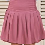 Sakura Pleated Mini Skirt